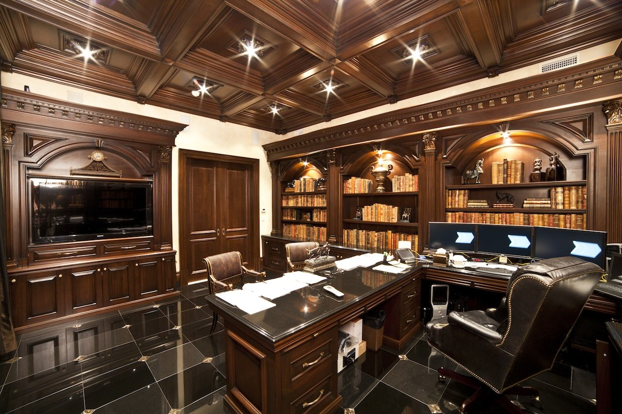 Dark Wood Office