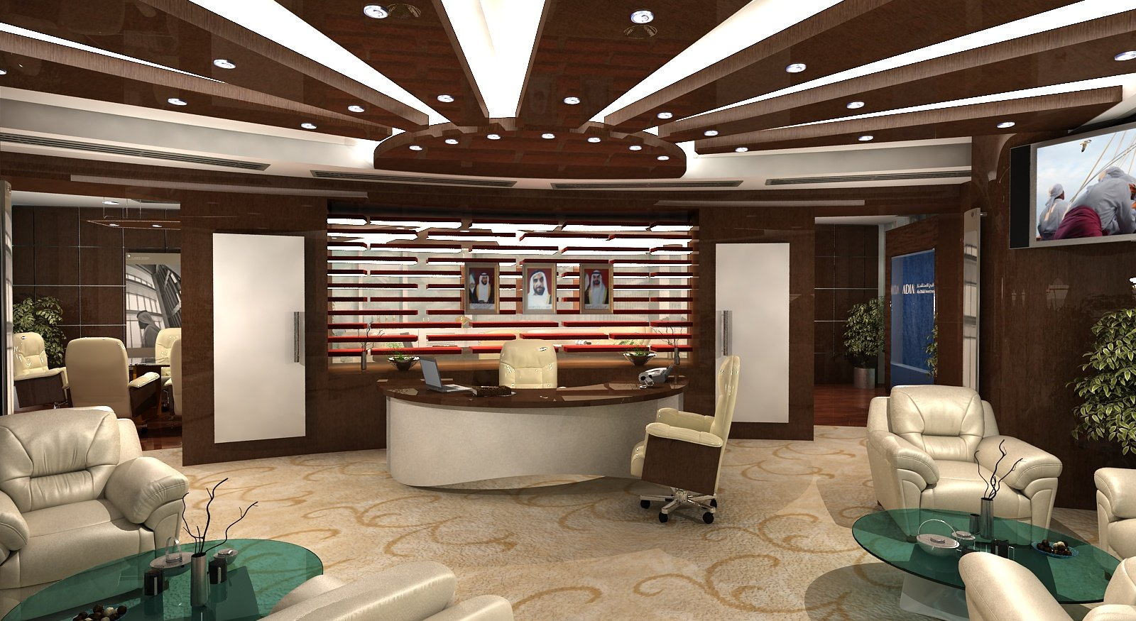 Office designs from around the world precision installation for Best executive office design