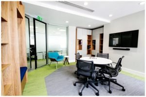 Think Contemporary Prothena Office Design