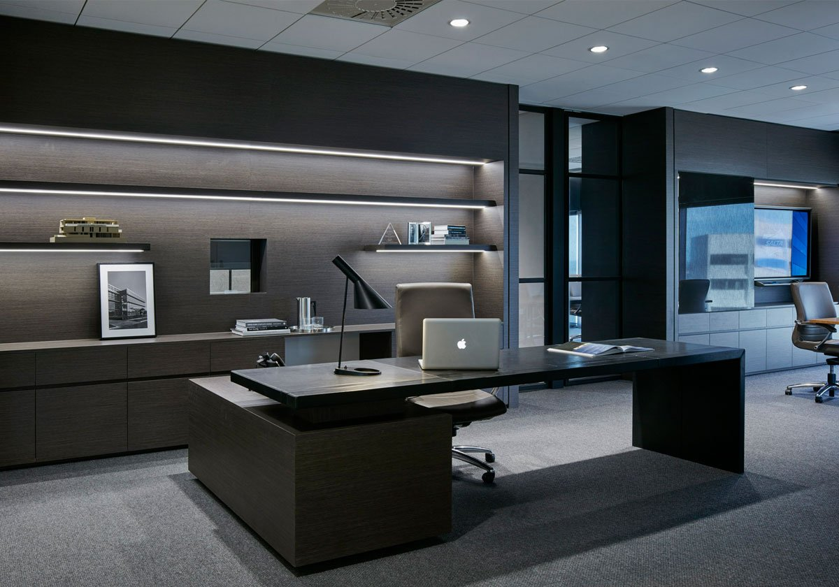 Office designs from around the world precision installation for Big office design